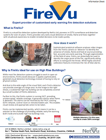FireVu for use on high rise buildings information sheet